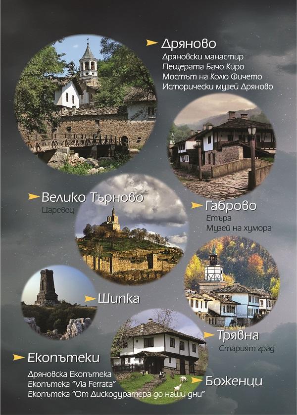Забележителности в Балкана
